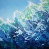 Shallow Seas, acrylic 91 x 62cms $700